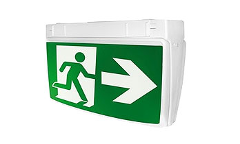 Exit emergency lights